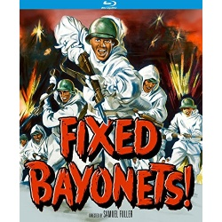 Fixed Bayonets! Blu-ray Cover