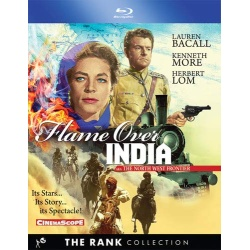 Flame Over India Blu-ray Cover