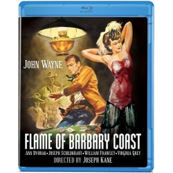 Flame of Barbary Coast Blu-ray Cover