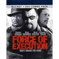 Force of Execution Blu-ray Cover
