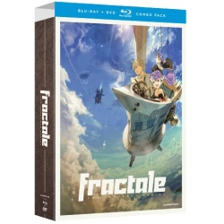 Fractale: Complete Series Blu-ray Cover