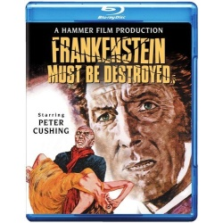 Frankenstein Must Be Destroyed Blu-ray Cover