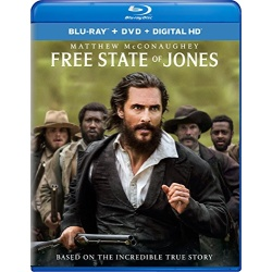 Free State of Jones Blu-ray Cover