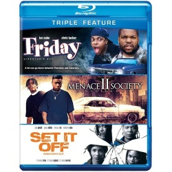 Friday / Menace II Society / Set It Off Blu-ray Cover