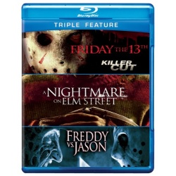 Friday the 13th / Nightmare on Elm Street / Freddy vs. Jason Blu-ray Cover