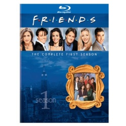Friends: The Complete 1st Season Blu-ray Cover
