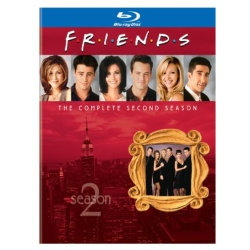Friends: The Complete Second Season Blu-ray Cover