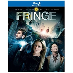 Fringe: The Complete 5th Season Blu-ray Cover