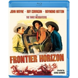 Frontier Horizon Blu-ray Cover