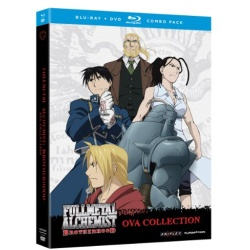 Fullmetal Alchemist: Brotherhood - OVA Collection Blu-ray Cover