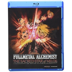Fullmetal Alchemist: Brotherhood - The Sacred Star of Milos Blu-ray Cover