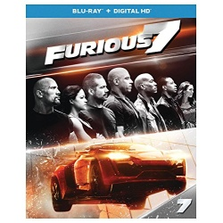 Furious 7 Blu-ray Cover