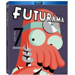Futurama: Volume 7 Blu-ray Cover