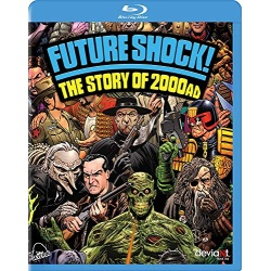 Future Shock! the Story of 2000AD Blu-ray Cover