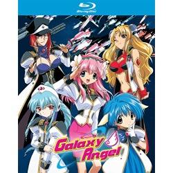 Galaxy Angel Blu-ray Cover
