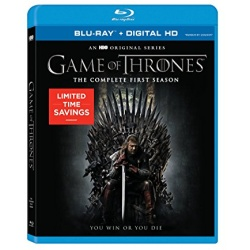 Game of Thrones: The Complete 1st Season Blu-ray Cover