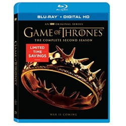Game of Thrones: The Complete 2nd Season Blu-ray Cover