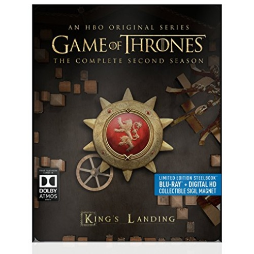 Warriors The New Prophecy Set The Complete Second Series: Game Of Thrones: The Complete Second Season Blu-ray Disc