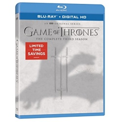 Game of Thrones: The Complete 3rd Season Blu-ray Cover