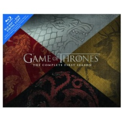 Game of Thrones: The Complete First Season Collector's Edition Blu-ray Cover