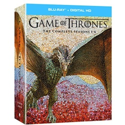 Game of Thrones: The Complete Seasons 1-6 Blu-ray Cover