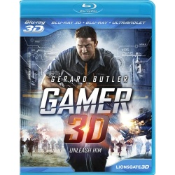 Gamer 3D Blu-ray Cover