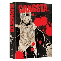 Gangsta: The Complete Series Blu-ray Cover