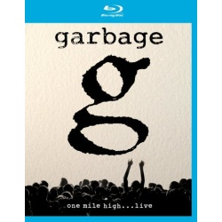 Garbage: One Mile High... Live Blu-ray Cover