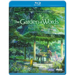 Garden of Words Blu-ray Cover