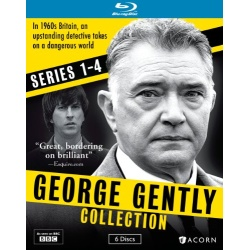George Gently Collection: Series 1 -4 Blu-ray Cover