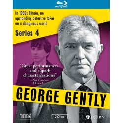 George Gently: Series 4 Blu-ray Cover