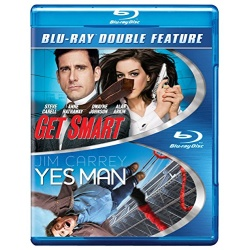 Get Smart / Yes Man Blu-ray Cover