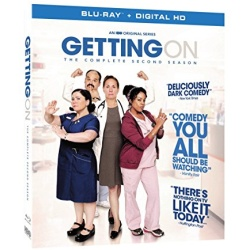 Getting On: The Complete 2nd Season Blu-ray Cover
