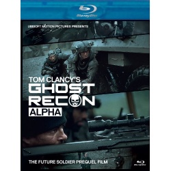 Ghost Recon: Alpha Blu-ray Cover
