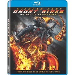 Ghost Rider: Spirit of Vengeance Blu-ray Cover