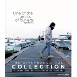 Gianfranco Rosi Collection Blu-ray Cover