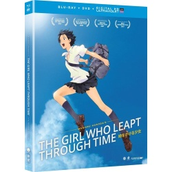 Girl Who Leapt Through Time Blu-ray Cover