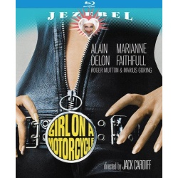 Girl on a Motorcycle Blu-ray Cover