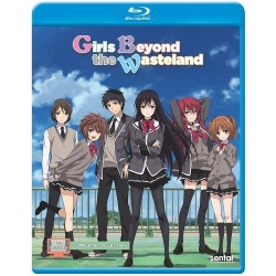 Girls Beyond the Wasteland Blu-ray Cover
