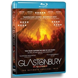 Glastonbury The Movie: In Flashback Blu-ray Cover