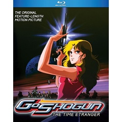 GoShogun: The Time Etranger Blu-ray Cover
