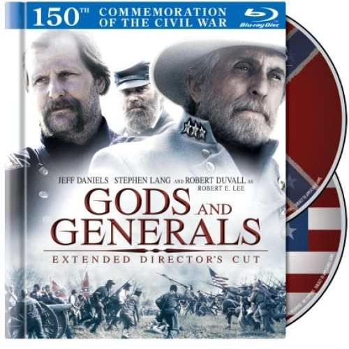 Gods and Generals 150th Anniversary Commemorative Blue-Ray DVD