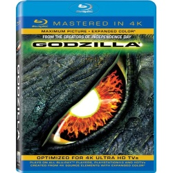 Godzilla Blu-ray Cover