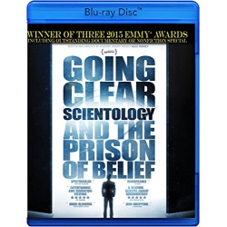 Going Clear: Scientology and the Prison of Belief Blu-ray Cover