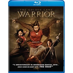 Golden Cane Warrior Blu-ray Cover