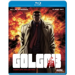 Golgo 13: The Complete Collection Blu-ray Cover