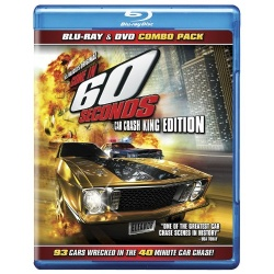 Gone in 60 Seconds Blu-ray Cover