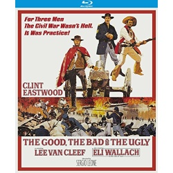 Good, the Bad and the Ugly Blu-ray Cover