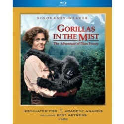 Gorillas in the Mist Blu-ray Cover