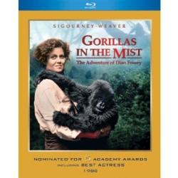 Gorillas in the Mist Blu-ray Cover